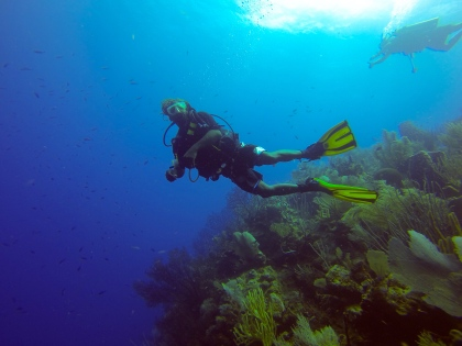 Diving in Belize