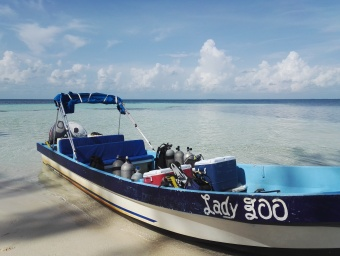 Lady Boo, 26ft skiff